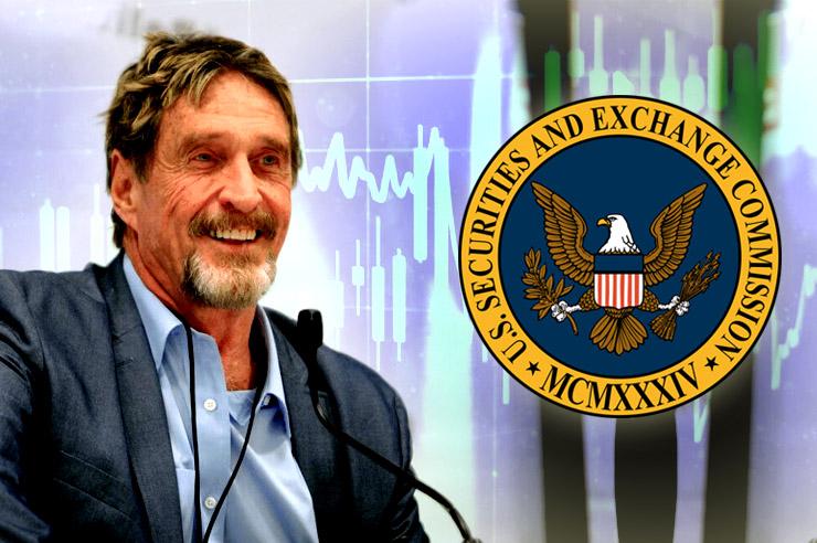 McAfeeDex Launches Bug Bounty Amid US SEC Concerns