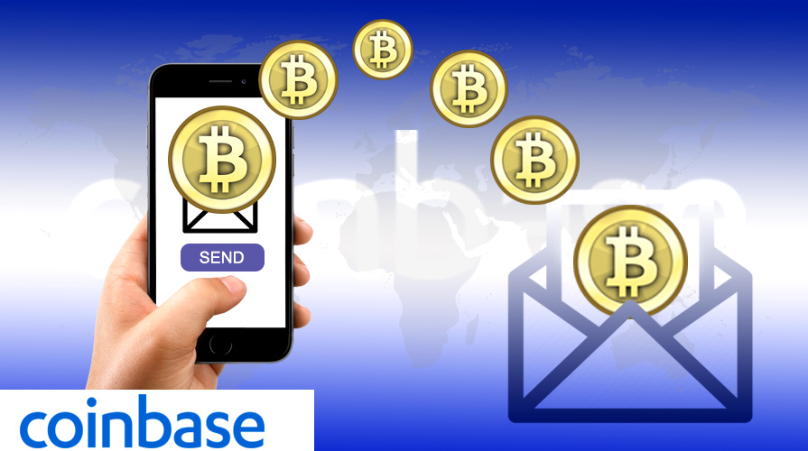 Coinbase Patents its Method of Transacting Bitcoin via Email