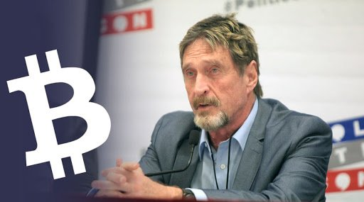 John McAfee Slams Bitcoin Calls It The Real Shitcoin