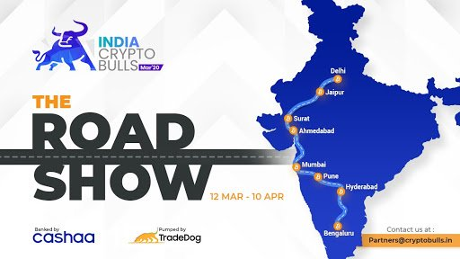 Crypto Bulls Roadshow 2020: Filling the Chasm Between India and the Crypto World