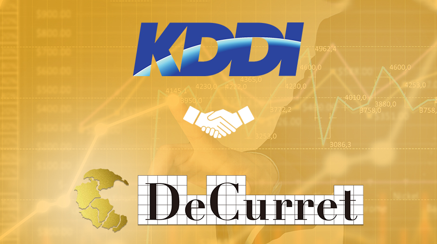 Telecom Giant Of Japan KDDI Partners With Crypto Exchange DeCurrent