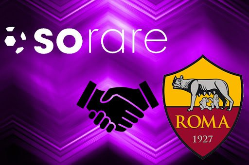 Roma Joins Sorare, Blockchain Alluring The footballing World