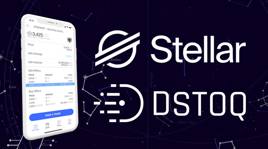 Stellar Announces To Spend In DeFi Stock Exchange DSTOQ