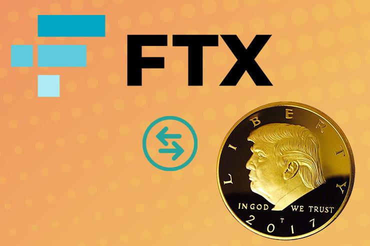 "FTX Crypto Derivative Exchange Launches Digital Token ""TRUMP 2020"""