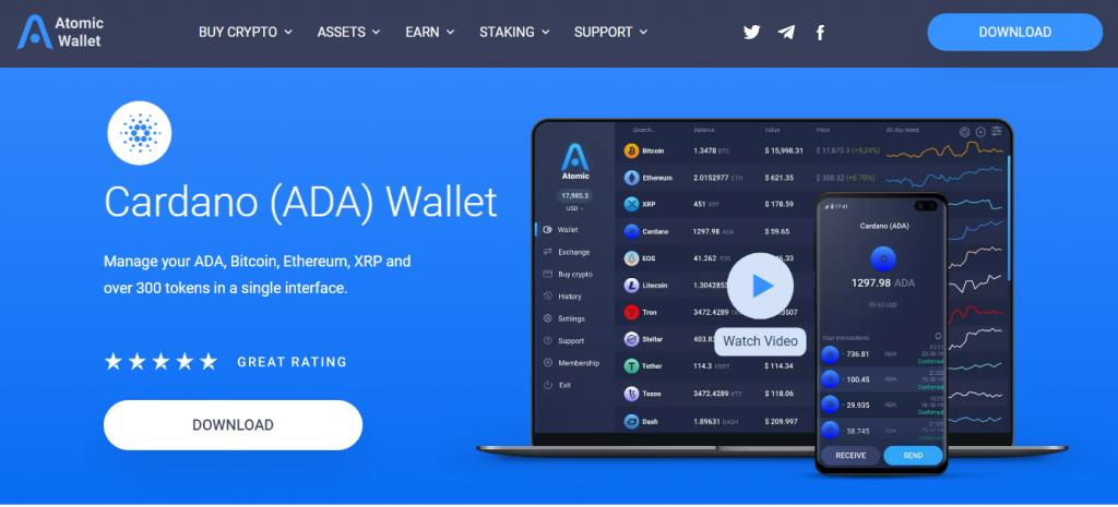 hardware wallet cardano