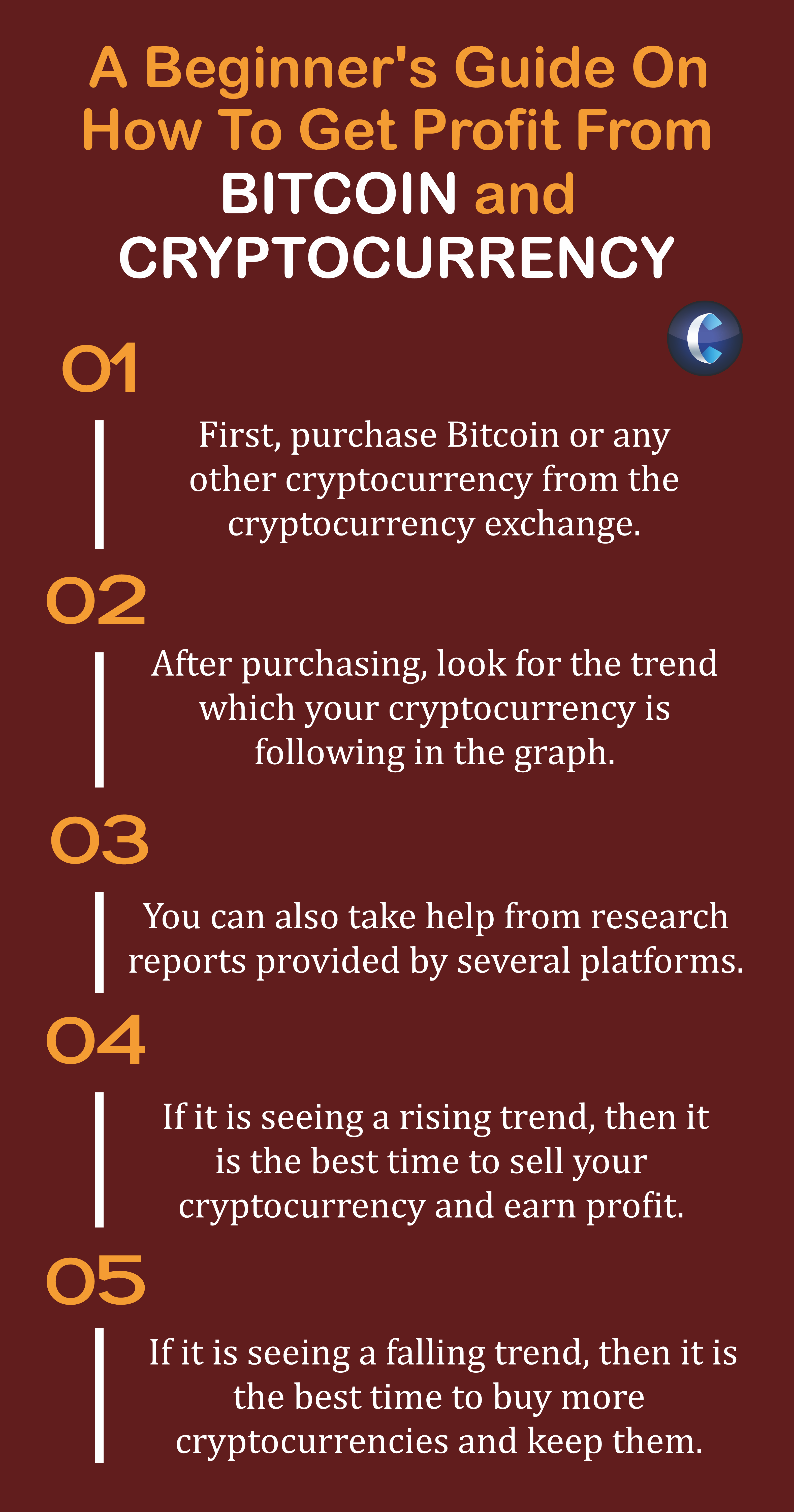 Profit from bitcoin and cryptocurrency
