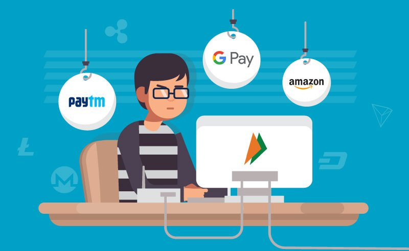 Is It Possible To Buy Altcoins In India With Google Pay, Paytm and Amazon Pay