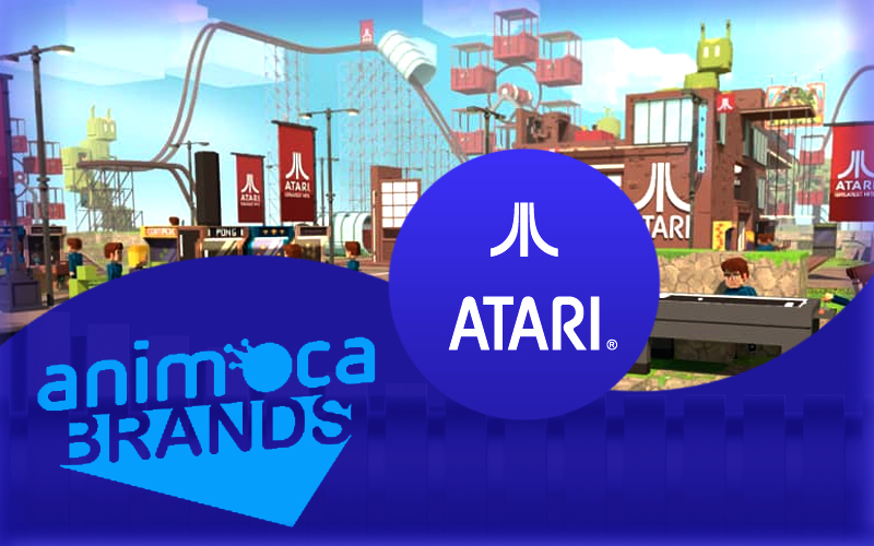 Gaming Brand Atari Launches a New Partnership With Animoca's Sandbox
