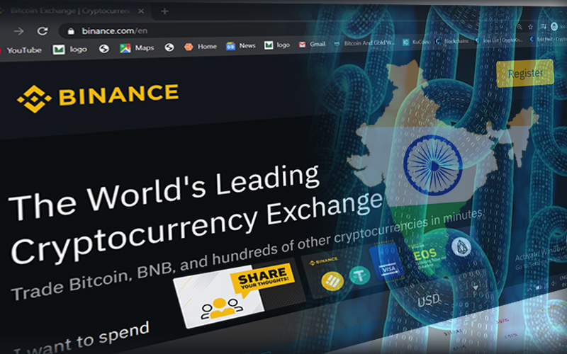 Binance and WazirX Announced New 'Blockchain For India' Fund