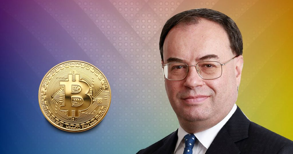 Incoming BoE Governor Warns Crypto Investors That They May Loose Money