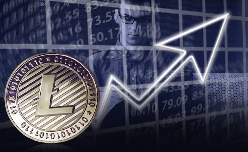 Litecoin's rising wedge continues to break downwards, $34 soon