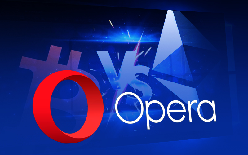 Opera Provides Built-In Crypto Wallet for U.S. Users