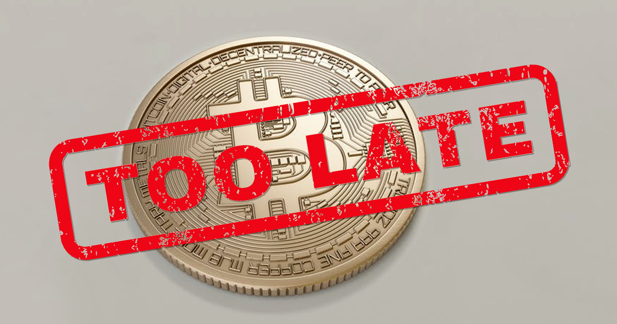 A Glance at Is It Too Late To Invest In Cryptocurrencies?