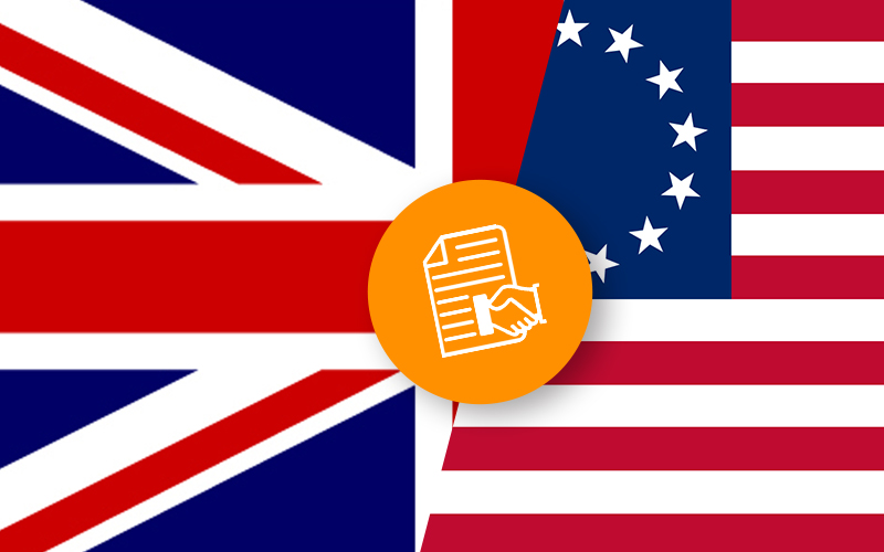 UK Government Emphasizes on Blockchain In US Free Trade Agreement