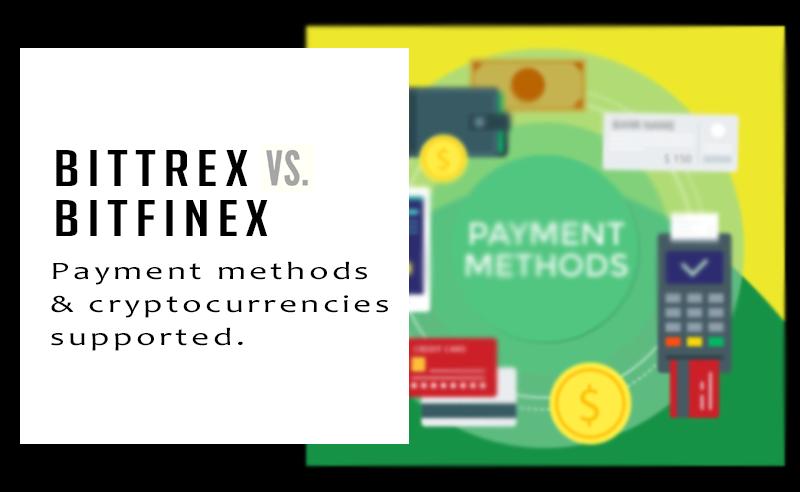 Bittrex vs Bitfinex comparison