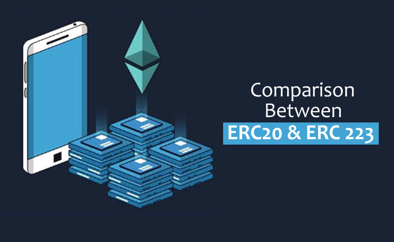 Comparison between erc20 and erc223