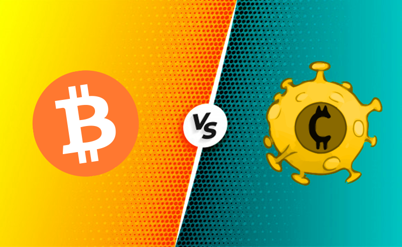 Corona Coin vs Bitcoin: Which of These Two Will Prevail Ultimately?