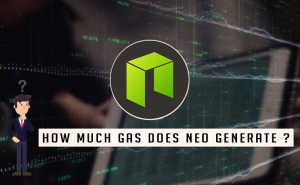 How much gas does NEO generate