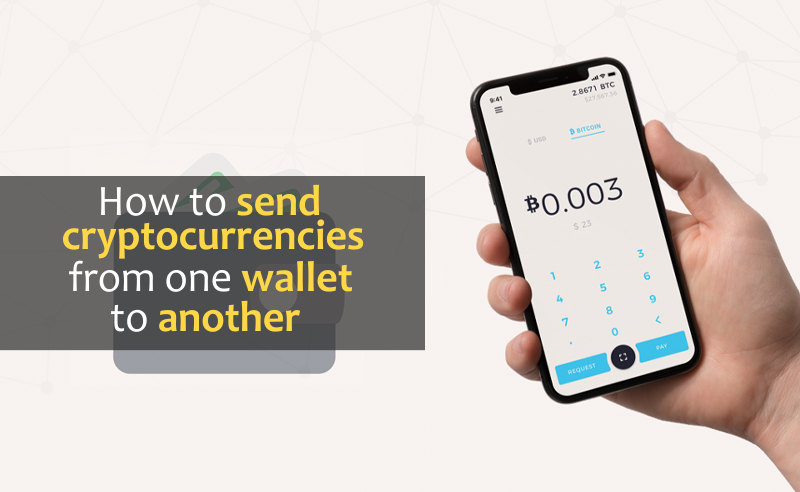 Send Cryptocurrencies From One Wallet To Another