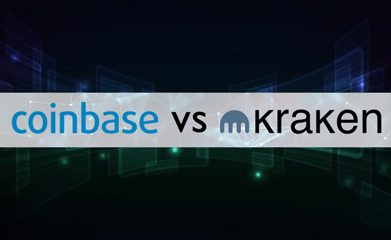 A comparison between Kraken vs Coinbase