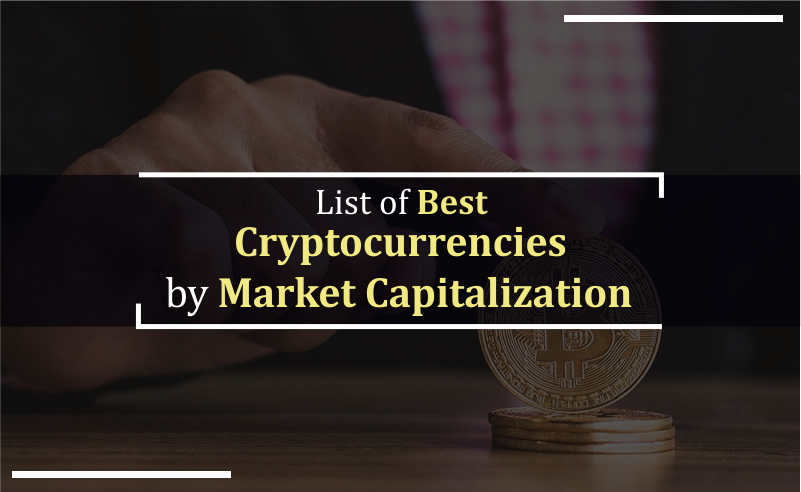 List of best cryptocurrencies by market cap