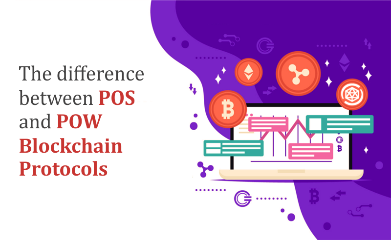 The Difference Between POW And POS Blockchain Protocols