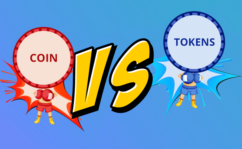 Know the Difference Between Coins and Tokens