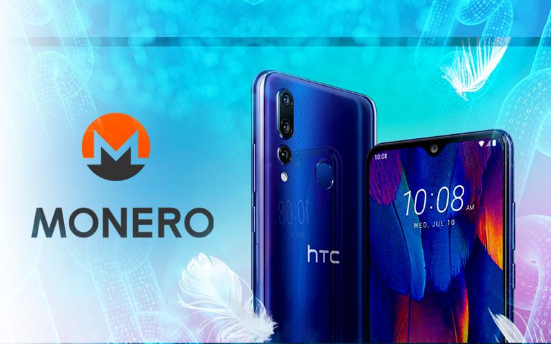 HTC Allow Users to Mine Monero Through Blockchain Phone