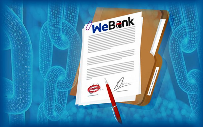 WeBank Jumps From Fifth To Third In Blockchain Patent Filing