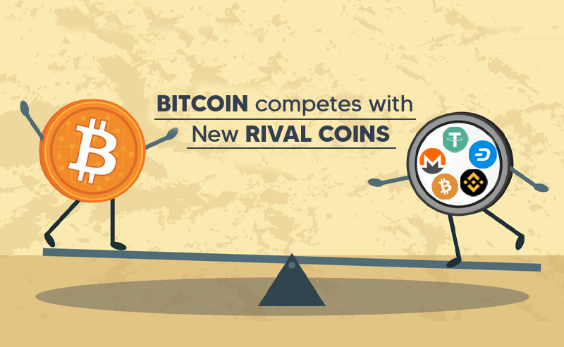 Bitcoin Competes With New Rival coins