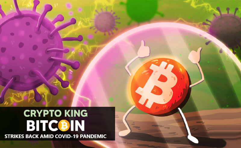 Crypto King Bitcoin Strikes Back Amid Covid19 Pandemic