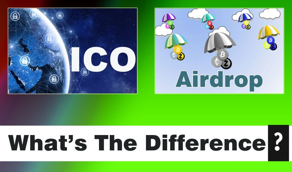 ICO And Airdrop: What's The Difference