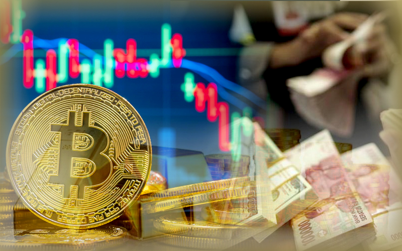 Safe Haven Rivals Bitcoin And Gold Notices Bearish Movement