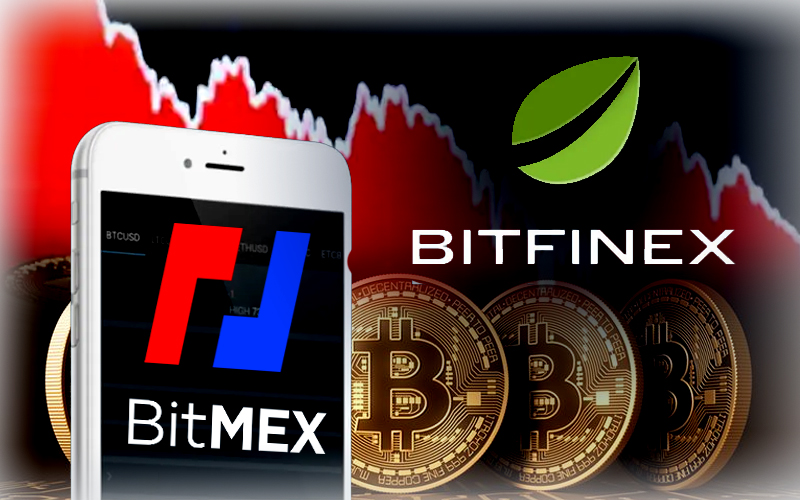 Crypto Exchanges Bitfinex And BitMEX See 50% Decline In Bitcoin Holding