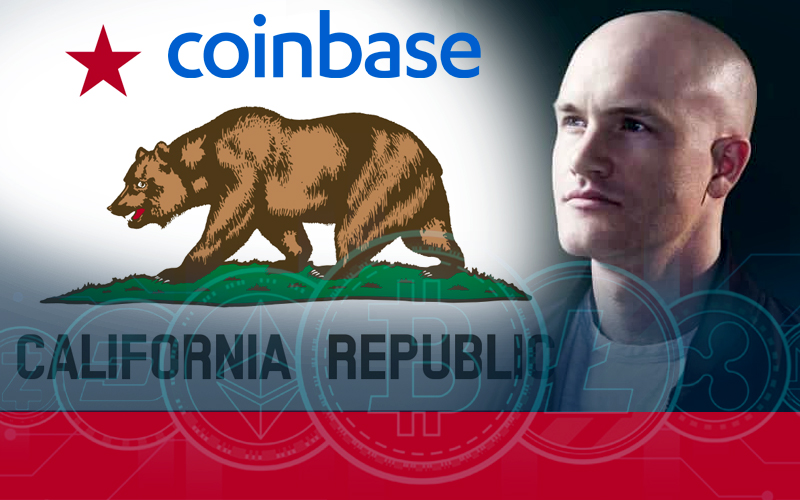 Californian Lawmakers' New Proposal Gets Support Of Brian Armstrong