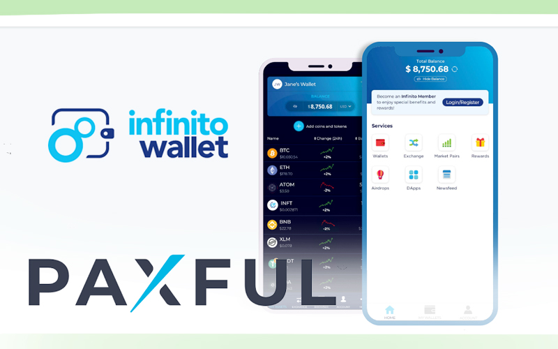 Infinito Wallet Partners With Paxful To Integrate Its Peer-To-Peer Services