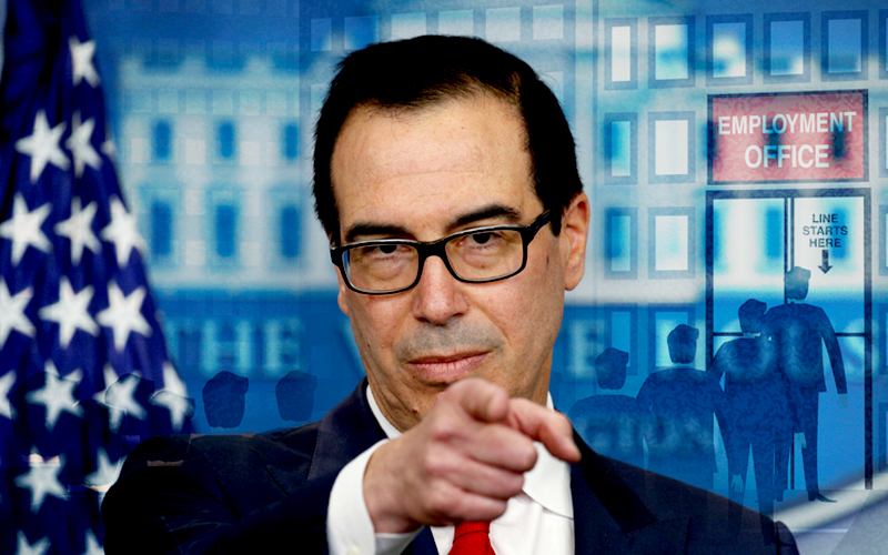 Steven Mnuchin Claims Unemployment to Get Worse Before Getting Better