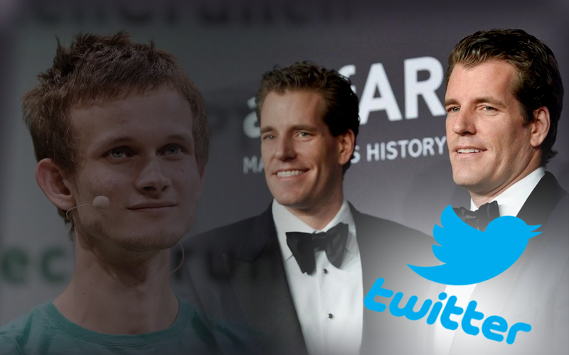 Winklevoss Twin And Vitalik Buterin Share Their Views On Twitter Censorship