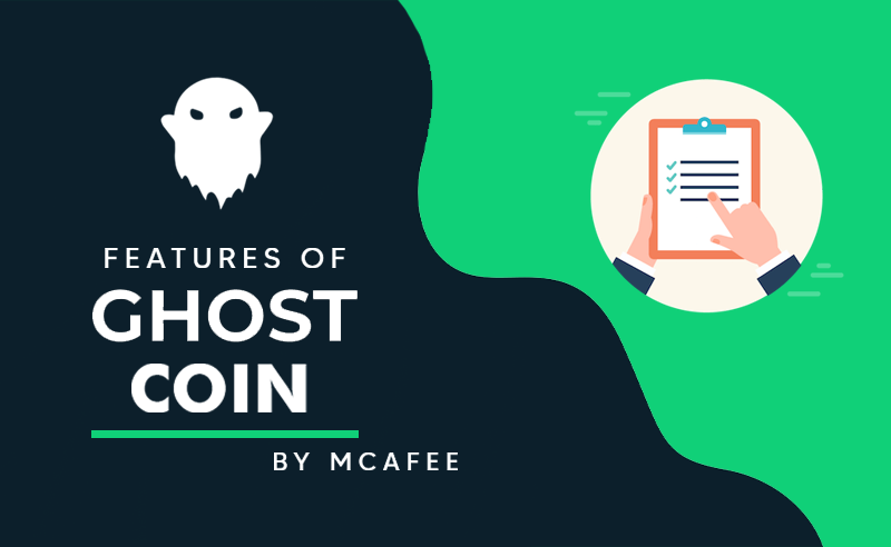 Features of ghost coin
