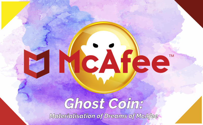 Coin Materialisation of Dreams of McAfee