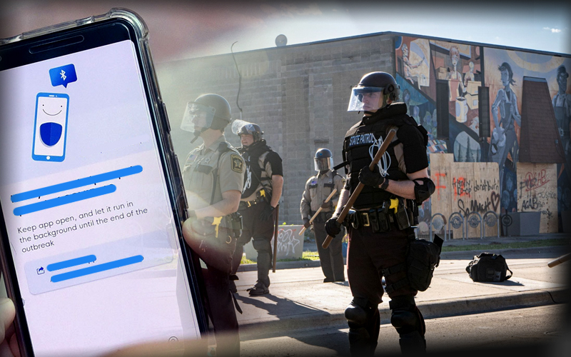 Minnesota Officials Using COVID-19's Contact Tracing Method For Identifying Protestors