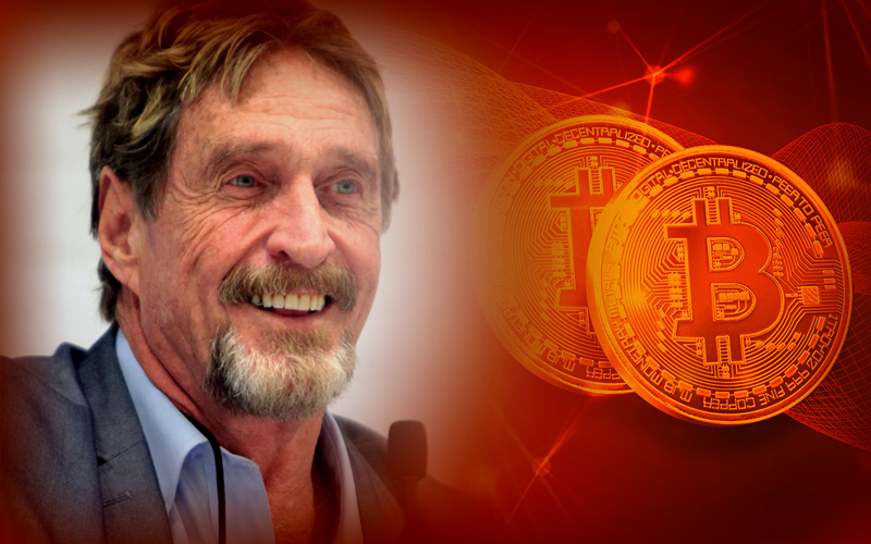 John McAfee Dismisses His Own $1M BTC Price Prediction