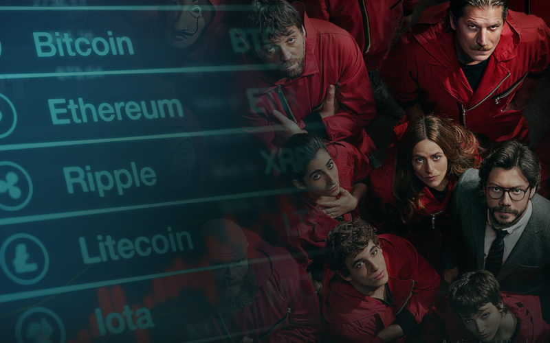 The Infamous Money Heist On Cryptocurrency Exchanges