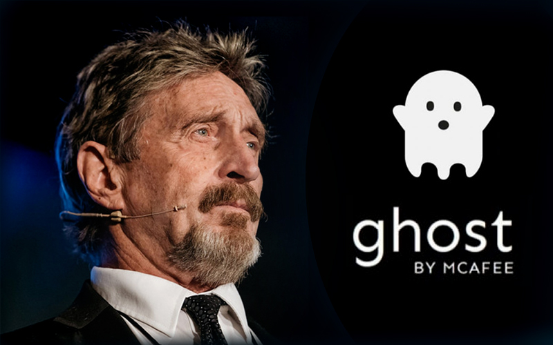 John McAfee Announces Ghost Distribution Exchange is Now Live