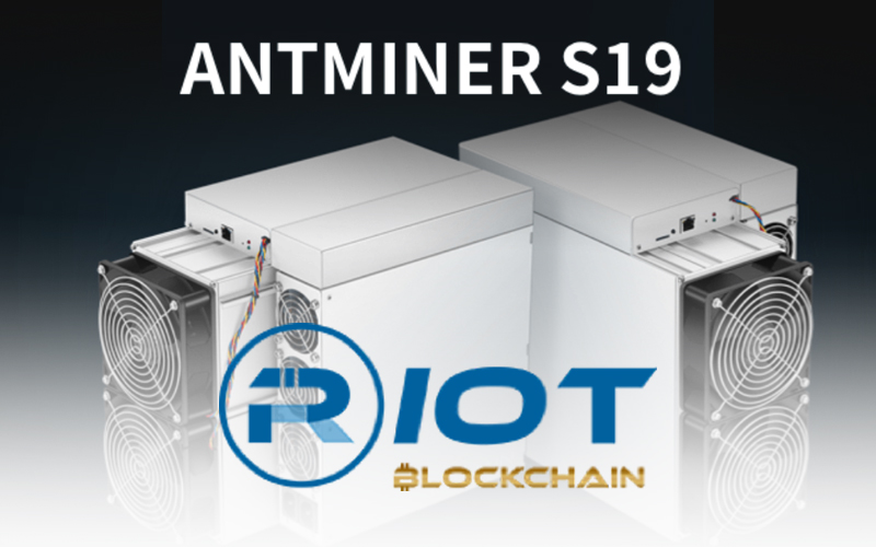 Additional 1000 S19 Pro Antminers Purchased By Riot Blockchain