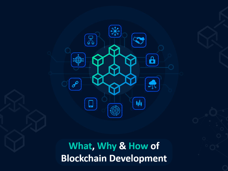 What, Why And How Of Blockchain Development !
