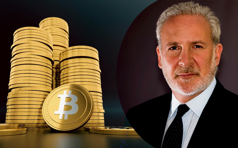 As Gold Price Goes Up, Bitcoin Will Collapse: Says Peter Schiff