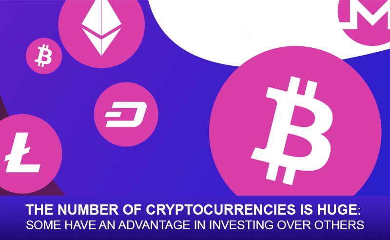 The Number of Cryptocurrencies Is Huge: Some Have an Advantage in Investing Over Others