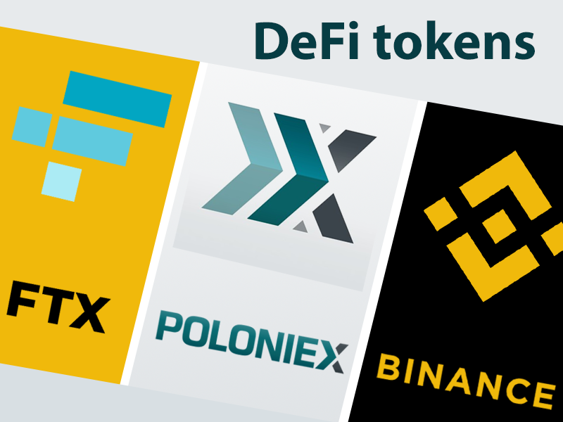 Binance, FTX And Poloniex Among Top 3 Exchanges To List Active Defi Tokens
