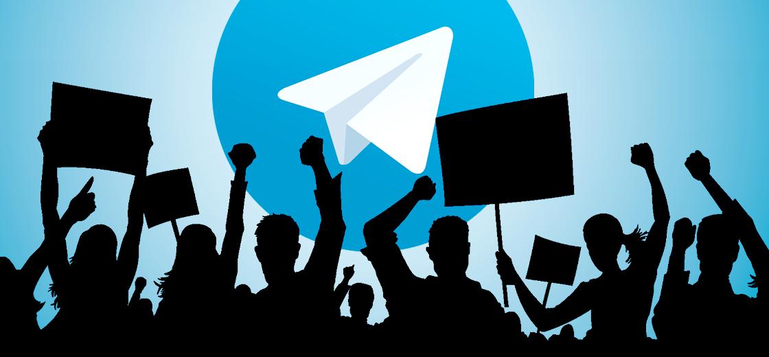 Telegram Expresses Support For Mass Protest in Belarus Against President
